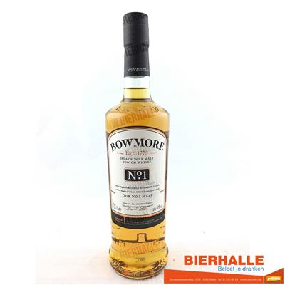 WHISKY BOWMORE N°1  70CL