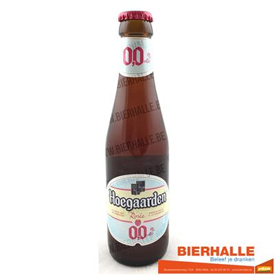 HOEGAARDEN ROSE 0% 25CL
