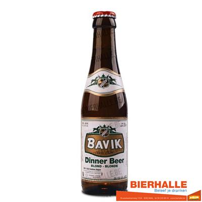 BAVIK DINNER BLOND 25CL