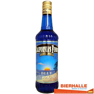 CALIFORNIA BLUE CURACAO 21% 70CL