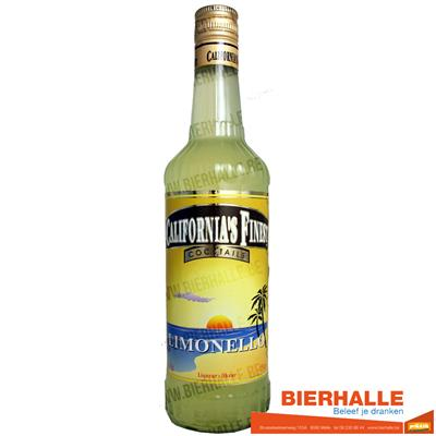 CALIFORNIA LIMONELLO 21% 70CL