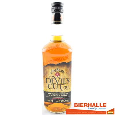 WHISKEY JIM BEAM DEVIL'S CUT 70CL - 45%