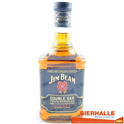 WHISKEY JIM BEAM DOUBLE OAK 70CL - 43%