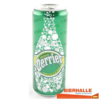 PERRIER 33CL *BLIK *SPUIT