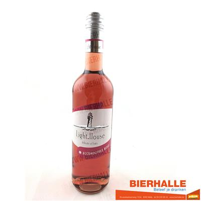 LIGHT HOUSE ROSE 0% 75CL
