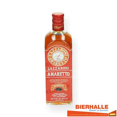AMARETTO LAZZARONI AUTENTICO 24% 70CL