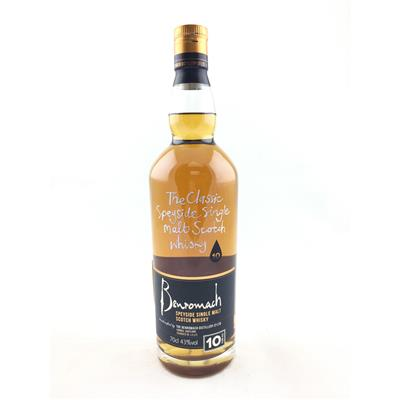 WHISKY BENROMACH 10 YEARS 70CL 43%