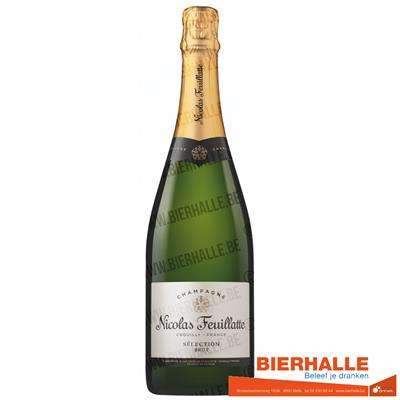 05. CHAMPAGNE NICOLAS FEUILLATE BRUT 75CL