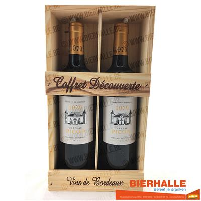 KIST CHATEAU PICON 1070 BORDEAUX SUPERIEUR 2X75CL