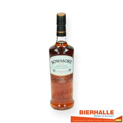 WHISKY BOWMORE 15Y 70CL 43% DARKEST