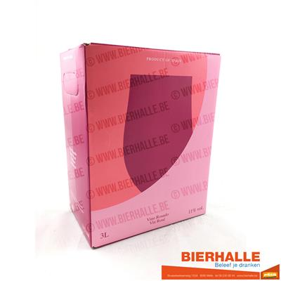 BAG-IN-BOX ELOSEGI ROSADO 3L