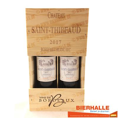KIST CHATEAU SAINT - THIBEAUD 2X75CL