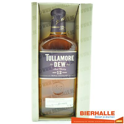 WHISKEY TULLAMORE DEW 12 YEARS TRIPLE DISTILLED